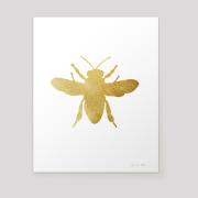 honeybee metallic gold